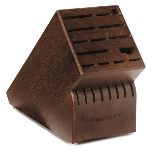 Wusthof Knife Block, Walnut Finish