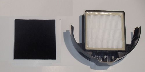 Hoover WindTunnel T-Series Upright Vacuum Replacement HEPA Exhaust Filter Cartridge, Carbon Charcoal Filter, Fits Parts