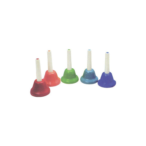 Kids Play Chromatic 5 Note Add - On Handbells Set