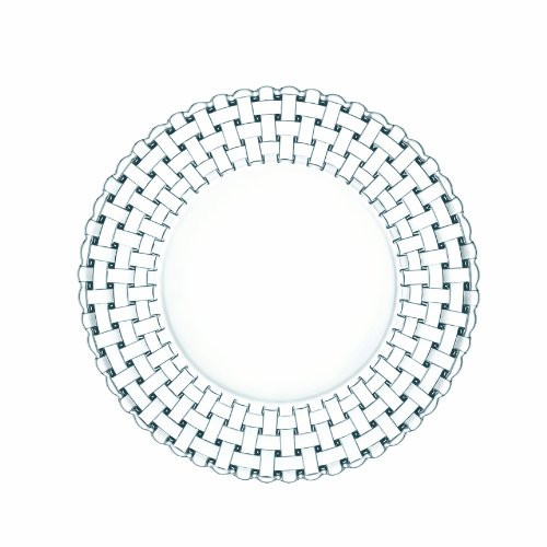 Nachtmann Dancing Stars Bossa Nova 10 5/8-Inch Crystal Dinner Plate, Set of 2