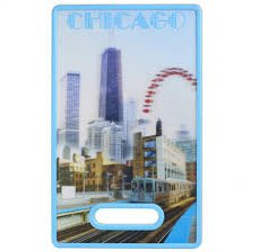 3D Cutting Board Chicago
