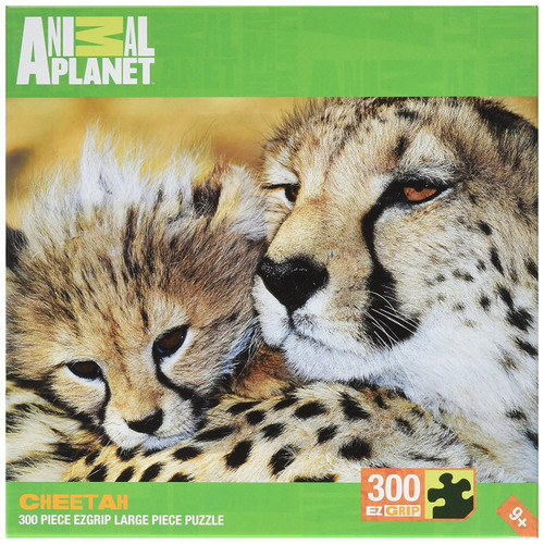 Master Pieces Cheetahs Animal Planet Grip Puzzle (300-Piece)