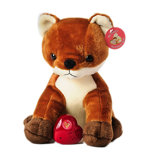 MBHB - Fox Stuffed Animal w/ 20 sec Voice Recorder - Fox