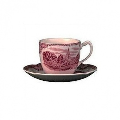 Johnson Brothers Old Britain Castles Pink Dinnerware Teacups