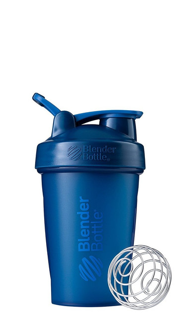 BlenderBottle Classic Loop Top Shaker Bottle, Navy/Navy, 20-Ounce Loop Top