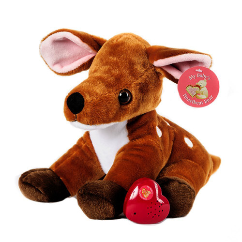MBHB - Deer Stuffed Animal w/ 20 sec Voice Recorder - Deer