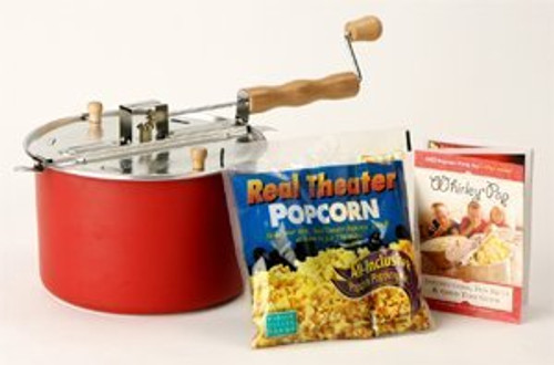 Wabash Valley Farms Barn Red Whirley Pop With All Inclusive Popping Kit