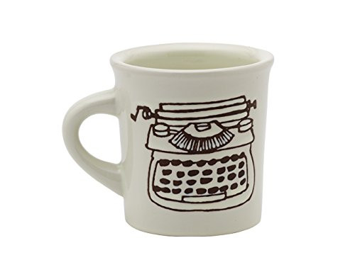 O.R.E. Originals Happy Products - Cuppa This Cuppa That Mug - Typewriter