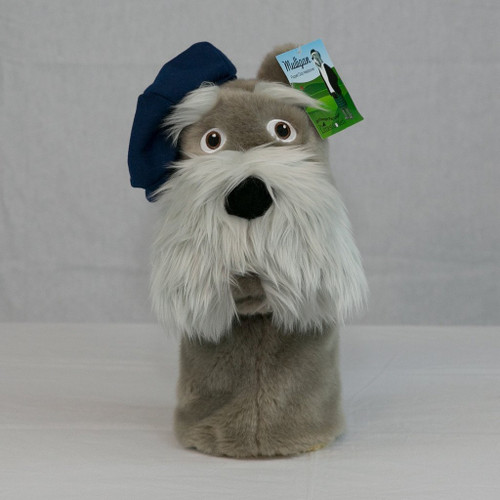 """The Littlest Golfer Club Head Cover and Puppet """"Mulligan"""""""