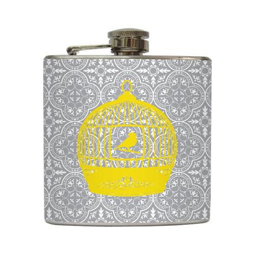 Free Bird - Liquid Courage Flasks - 6 oz. Stainless Steel Flask