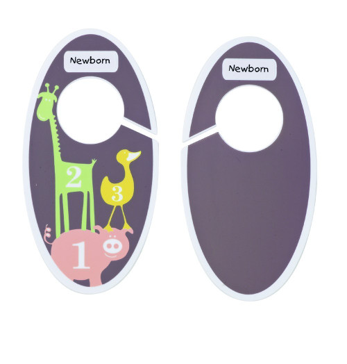 Sugarbooger Children's Closet Dividers, Numbers