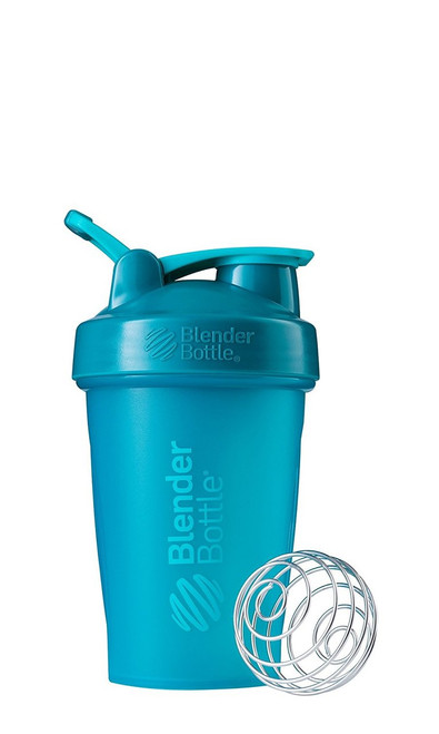 BlenderBottle Classic Loop Top Shaker Bottle, Teal/Teal, 20-Ounce Loop Top