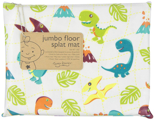 Sugarbooger Jumbo Floor Splat Mat, Prehistoric Pals