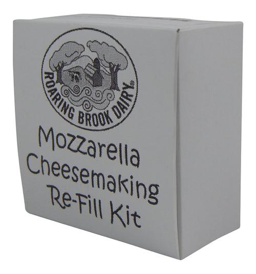 Roaring Brook Dairy Mozzarella Cheesemaking REFILL Kit