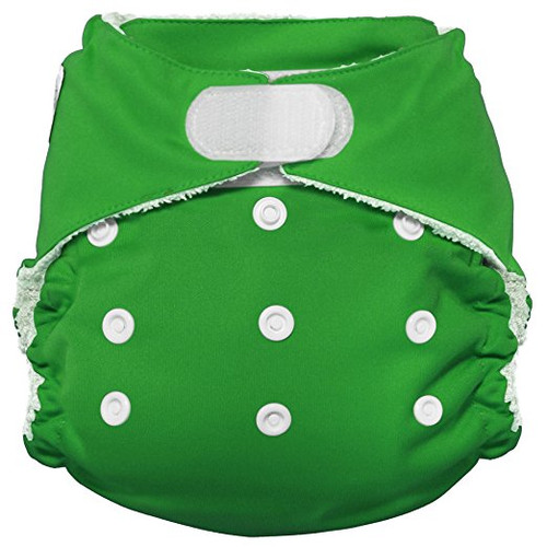 Imagine Baby Products Bamboo AIO 2.0 Diaper, Emerald, H&L