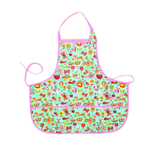 Sugarbooger Kiddie Apron, Birds & Butterflies