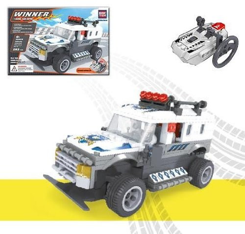 BricTeck: Police Truck, (20203)