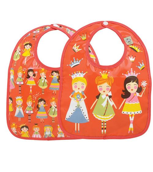 Sugarbooger Mini Bib Gift Set, Princess, 2 Count