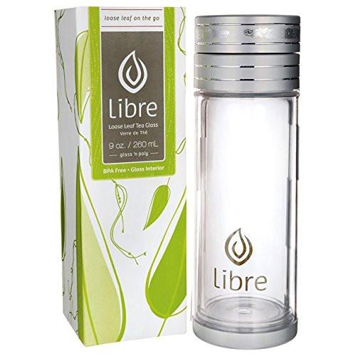 Libre Tea Glass Libre Loose Leaf Tea Glass 9 oz 1 Unit