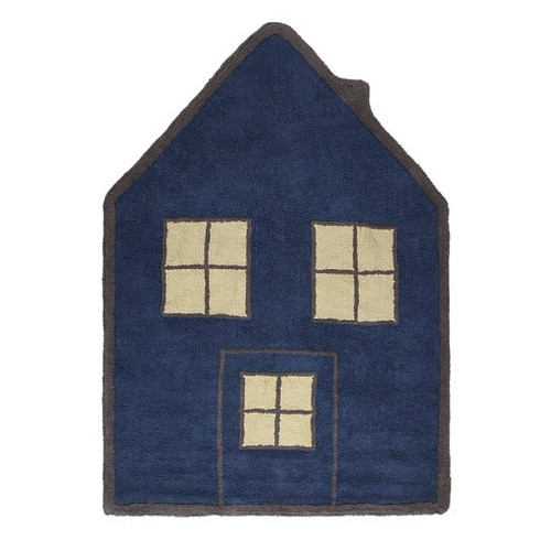 Lorena Canals Casita Night Washable Children's Rug - Machine Washable, Perfect for the Nursery - Handmade from 100% Natu