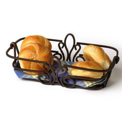 Spectrum Diversified 36624 Patrice Bread Basket, Bronze Finish