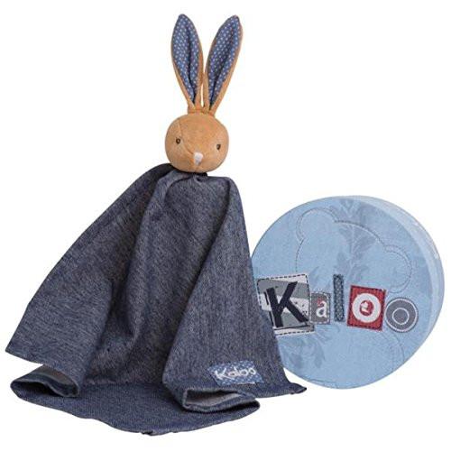 Kaloo Denim Large Rabbit Doudou