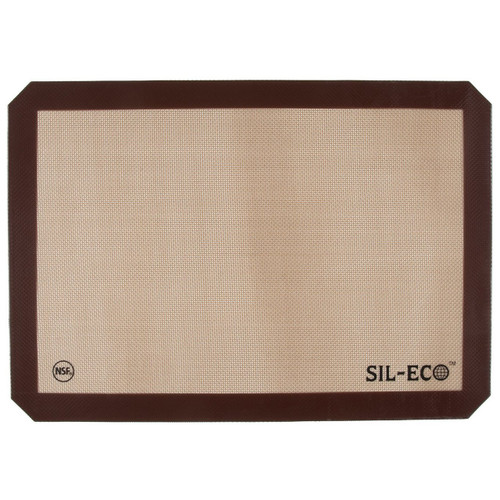 "Sil-Eco E-99130 Non-Stick Silicone Baking Liner, Full Sheet Size, 16-1/2"" x 24-1/2"""