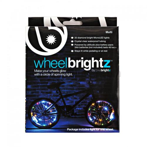 Brightz, Ltd. Multicolor Wheel Brightz LED Bicycle Light