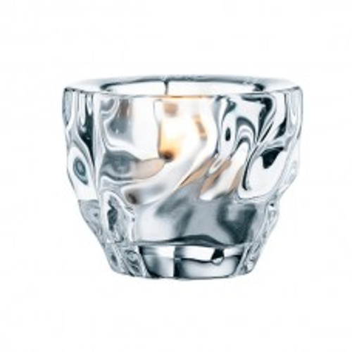 Nachtmann Crystal Glacier Votive Holder, Set of 2