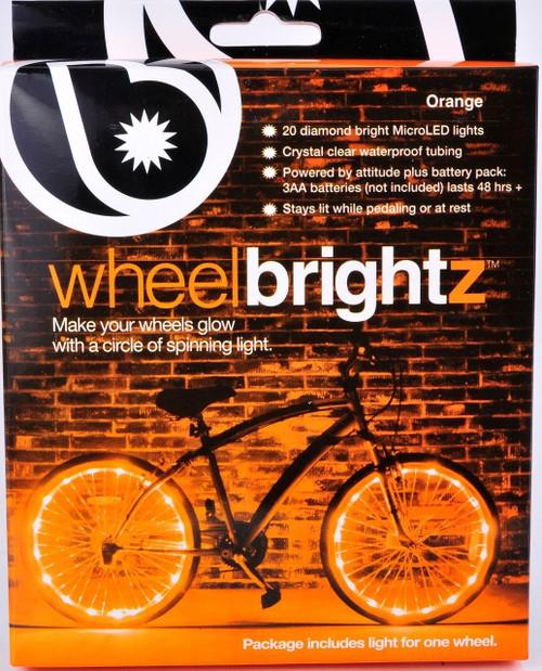Brightz, Ltd. Orange Wheel Brightz LED Bicycle Light