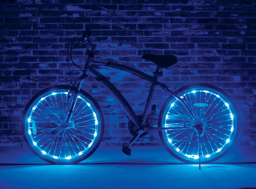 Brightz, Ltd. Blue Wheel Brightz LED Bicycle Light