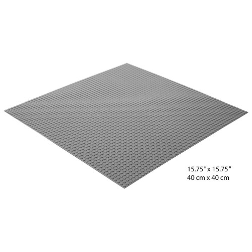 Brictek Grey Baseplate