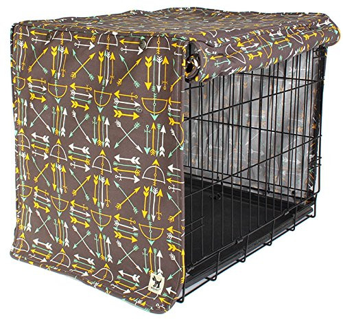 molly mutt Lion's Roar Small Crate Cover