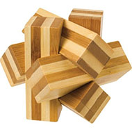 Bamboozlers Bamboo Wooden Puzzle