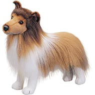 Douglas Cuddle Toys Dixie Sheltie Plush Dog