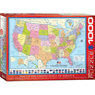 EuroGraphics 1000-Piece United States of America Puzzle