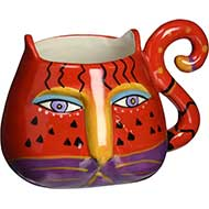 Westland Giftware Laurel Burch Fantastic Felines Coffee Mug