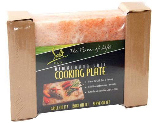 Salt Rox Sr90079 Pink Himalayan Salt Cooking Plate Large