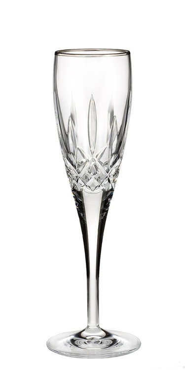 waterford lismore nouveau platinum champagne flute