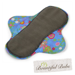 Washable Cloth Pad, Menstrual & Incontinence Pads, Small, Summer Garden
