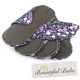 Reusable Cloth Maternity Pad - Absorbent Charcoal Bamboo - 4 Pack