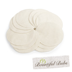 Bountiful Bubs, Bamboo Breast Pads - 12 Pack