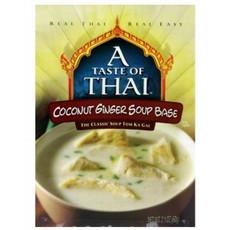 A Taste Of Thai Coconut Ginger Soup Base (6x2.1Oz)