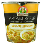 Dr. Mcdougall's Rice Noodle, Sesame Chicken (6x1.3 OZ)