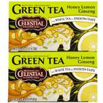 Celestial Seasonings Honey Lemon Ginseng Green Tea (3x20Bag)
