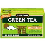 Bigelow Decaffeinated Green Tea (6x20 Bag)