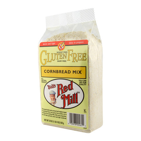 Bob's Red Mill Cornbread Mix Gluten Free (4x20 Oz)