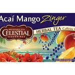 Celestial Seasonings Acai Mango Zinger Herb Tea (3x20 Bag)