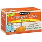 Bigelow Orange & Spice Herb Tea (3x20 Bag)