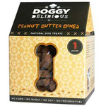 Doggy Delirious Peanut Butter Bones (6x16OZ )